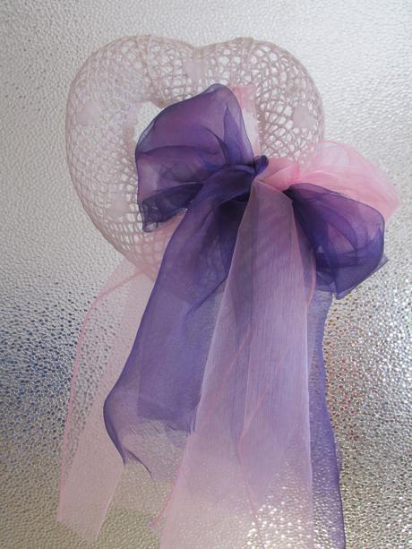 Celá svatební výzdoba pro 40 hostu fialovo růžová,
