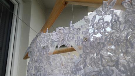 Luxuní svatební šaty - velikost S, 36