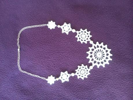 Cipkovny náhrdelník ,