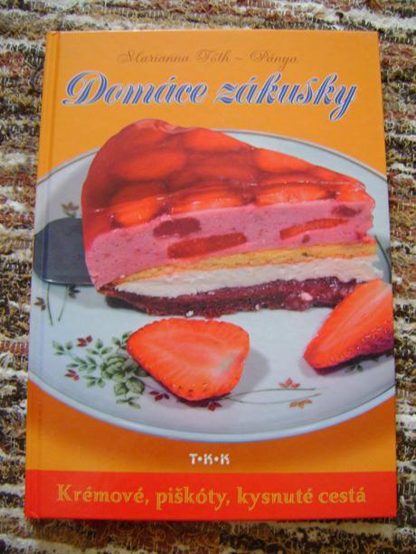 kniha receptov-domáce zákusky,