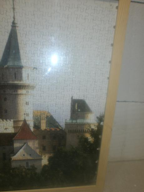 obraz zamok z puzzle 1000casti,