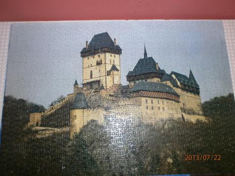 puzzle zamok,