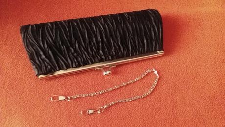 Mini čierna kabelka, L