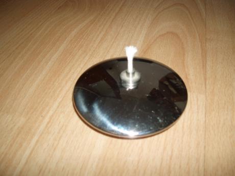 antikorová sviečka na vonný olej,
