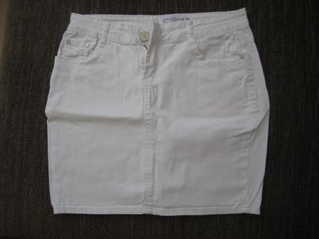 Riflová sukně, 40
