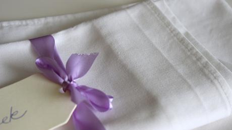 Bavlnené obrúsky - prírodná biela,