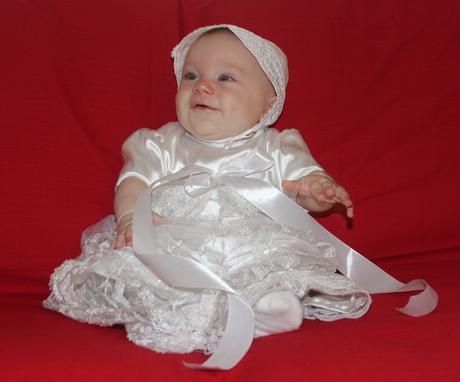 Dievčenské šatočky na krst alebo na svadbu, 74