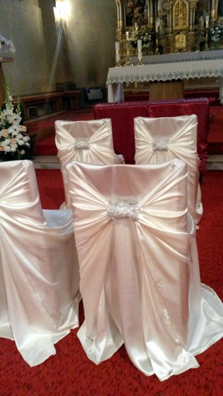 Nádherné návleky na stoličky,
