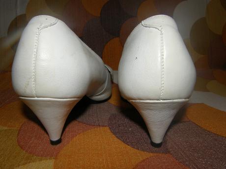 Svadobné lodičky s mašličkou, 38