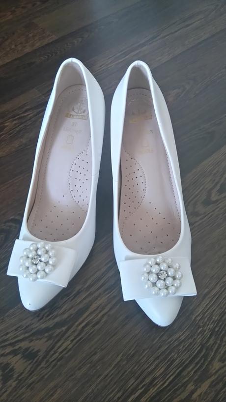 Svadobné topánky 37, 37