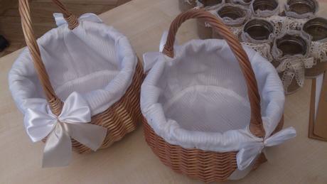 3 x košíčky Ø 20 cm výška 12 cm+madlo 150kč/ks,