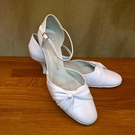 Bílé svatební boty, 41