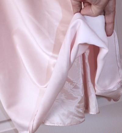 Bledoružové šaty vel. 36, 36