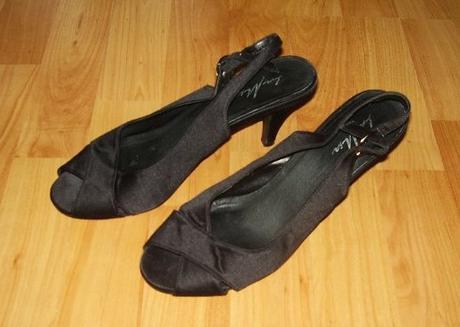 Čierne sandále , 38