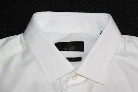 Pánsky oblek slim fit aj s košeľou NEXT, veľ. 48, 48
