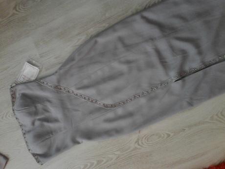 Šaty veľ.S-M  sivé, 38