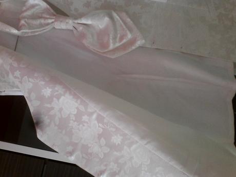 Svadobná vesta v. 56 s francúzskou kravatou, 56