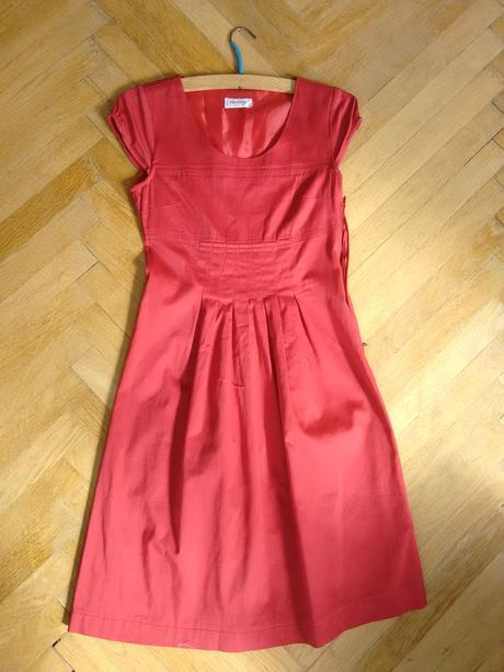 Cervene saty Orsay vel. 36, 36