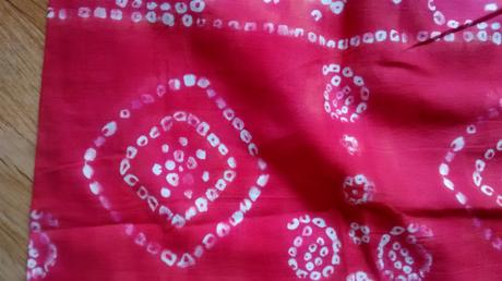 Dvoubarevna sukne se vzorem, vel. 38, 38