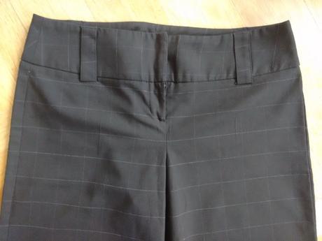 Kalhoty vel. 38. jemna kostka, 38