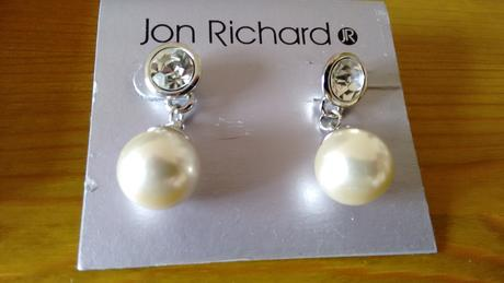 Nausnice s perlickami,