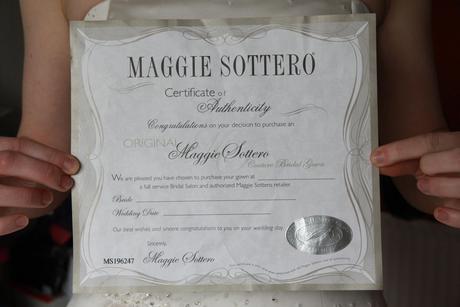 Svatebni saty Maggie Sottero, 38 - 42, certifikat, 40