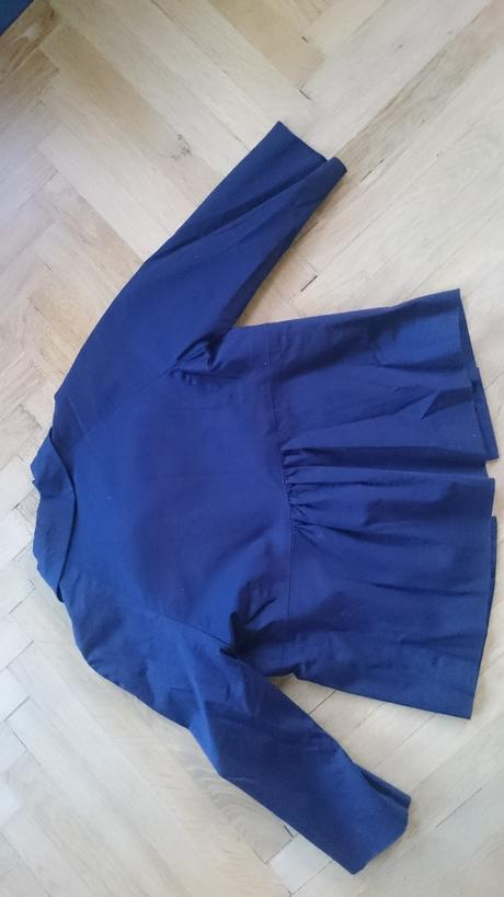 Tmavě modré sako vel.36 , 36