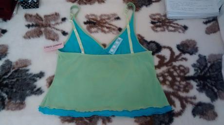 Zeleno modra kosilka a kalhotky, vel 40, 40