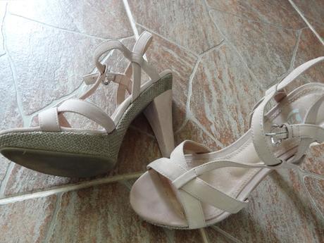 starorůževé sandálky, 37