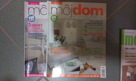 časopisy o bývaní,