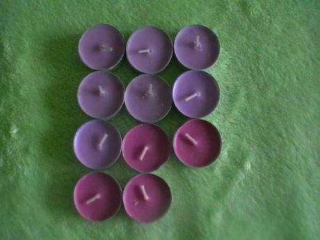 čajové sviečky 12ks,