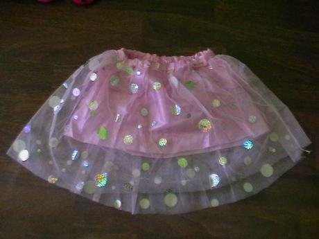 ružová suknička,