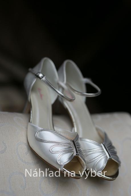 ZLAVA svadobne topanky , 37