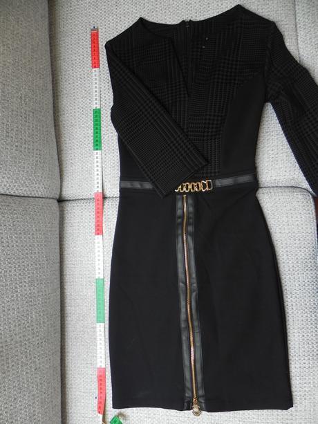 čierne šaty, XS