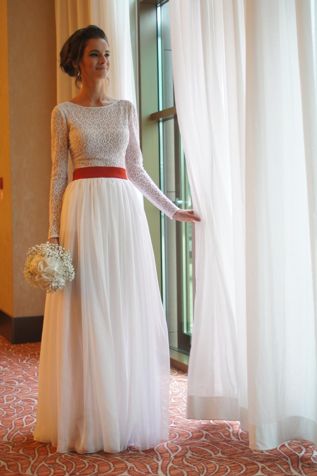 65e6a44af Jednoduché pohodlné svadobné šaty, 34 - 700 € | Svadobný bazár |  Mojasvadba.sk