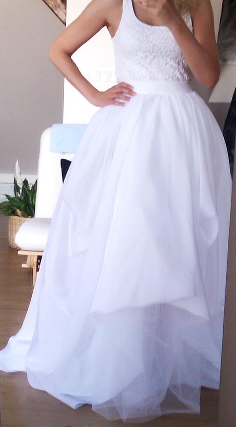 bohatá svatební sukně, 36