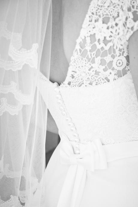 Biele svadobné šaty,šité v Nemecku, 38