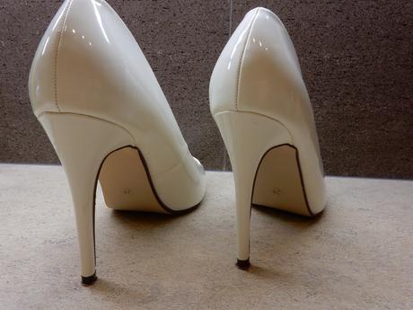 Svatební lodičky bílé, 38