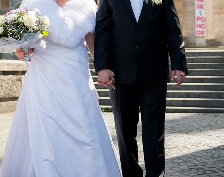 svadobné šaty Agnes, 46