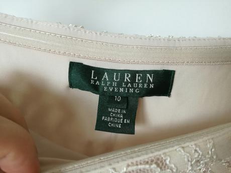 Svatební šaty zn. Ralph Lauren, velikost 40 - 44, 42
