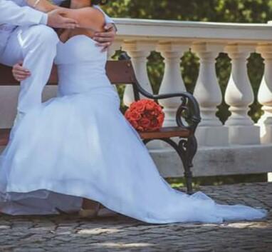 Svatební šaty styl Mořská panna, 34
