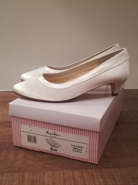Svadobné topánky značky Rainbow - veľkosť 39,5, 39