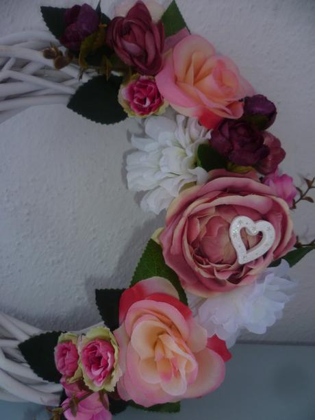 Retro svadobný venček,