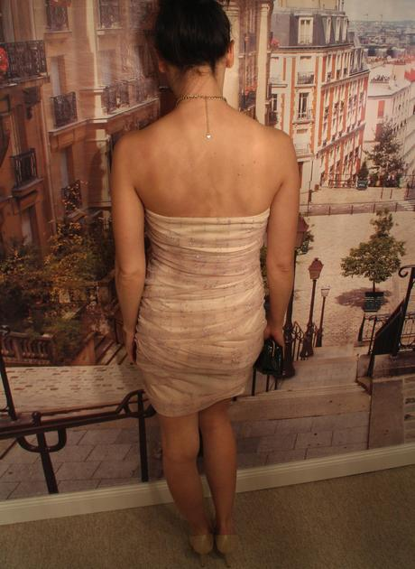 Šaty s trblietkami - ASOS, 38