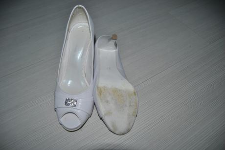 Svadobné kožené topánky, 37