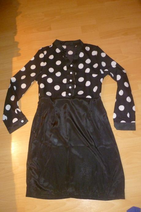 čierne šaty - iba vyskúšané, M