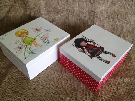 Krabica s dievčatkom,