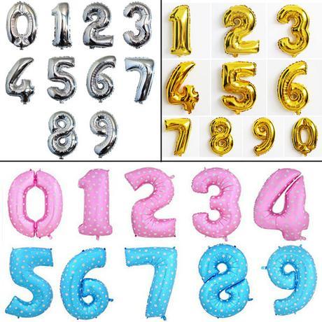 Balónek - číslice,
