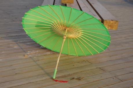 Bambusový deštník,