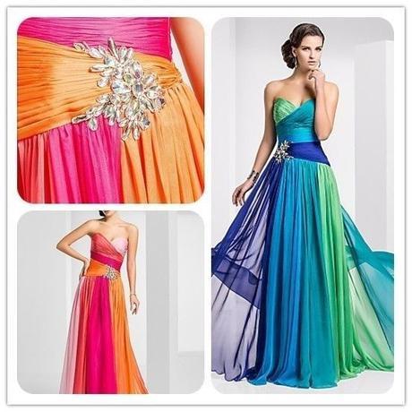 Duhové šaty - na objednávku, 38